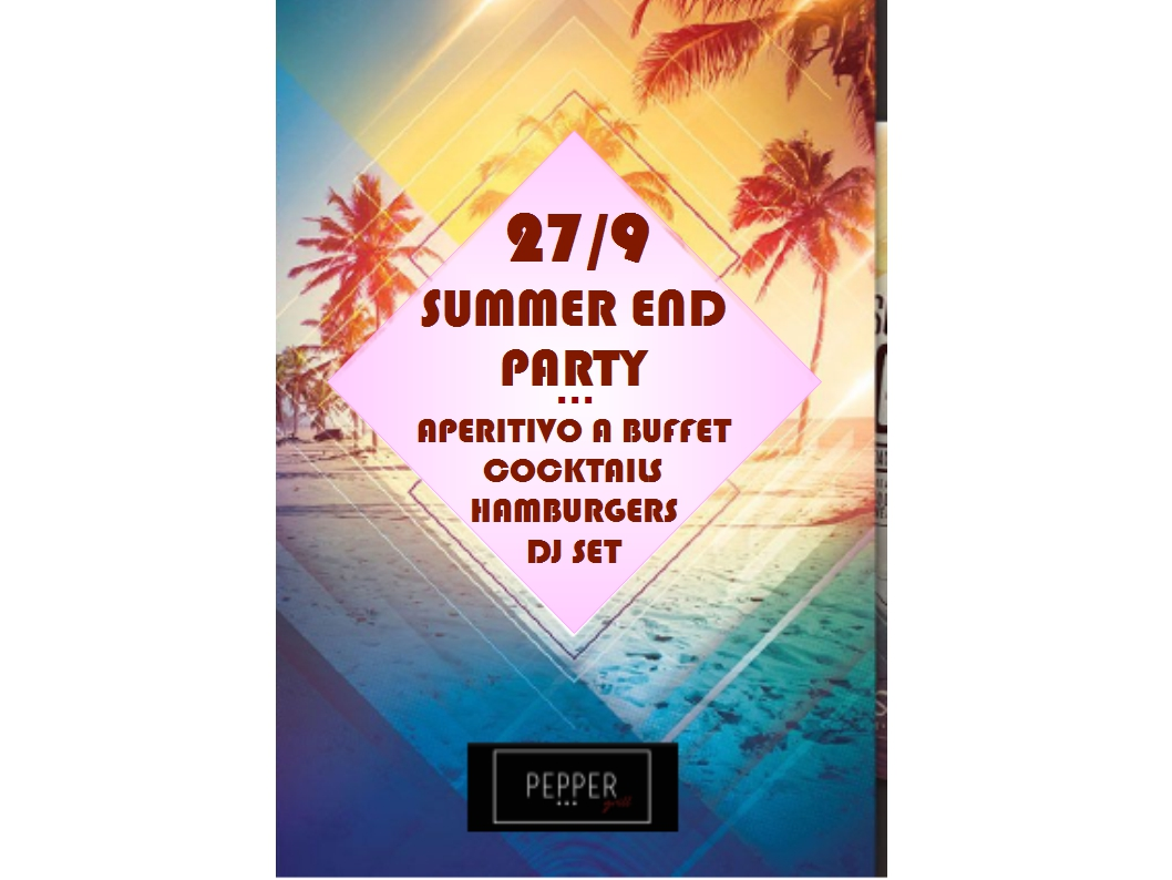 SUMMER END PARTY